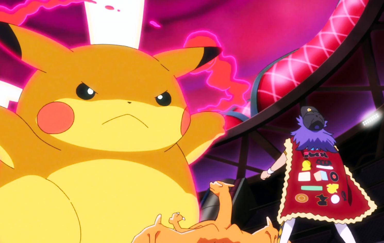 pokemon journeys fat pikachu