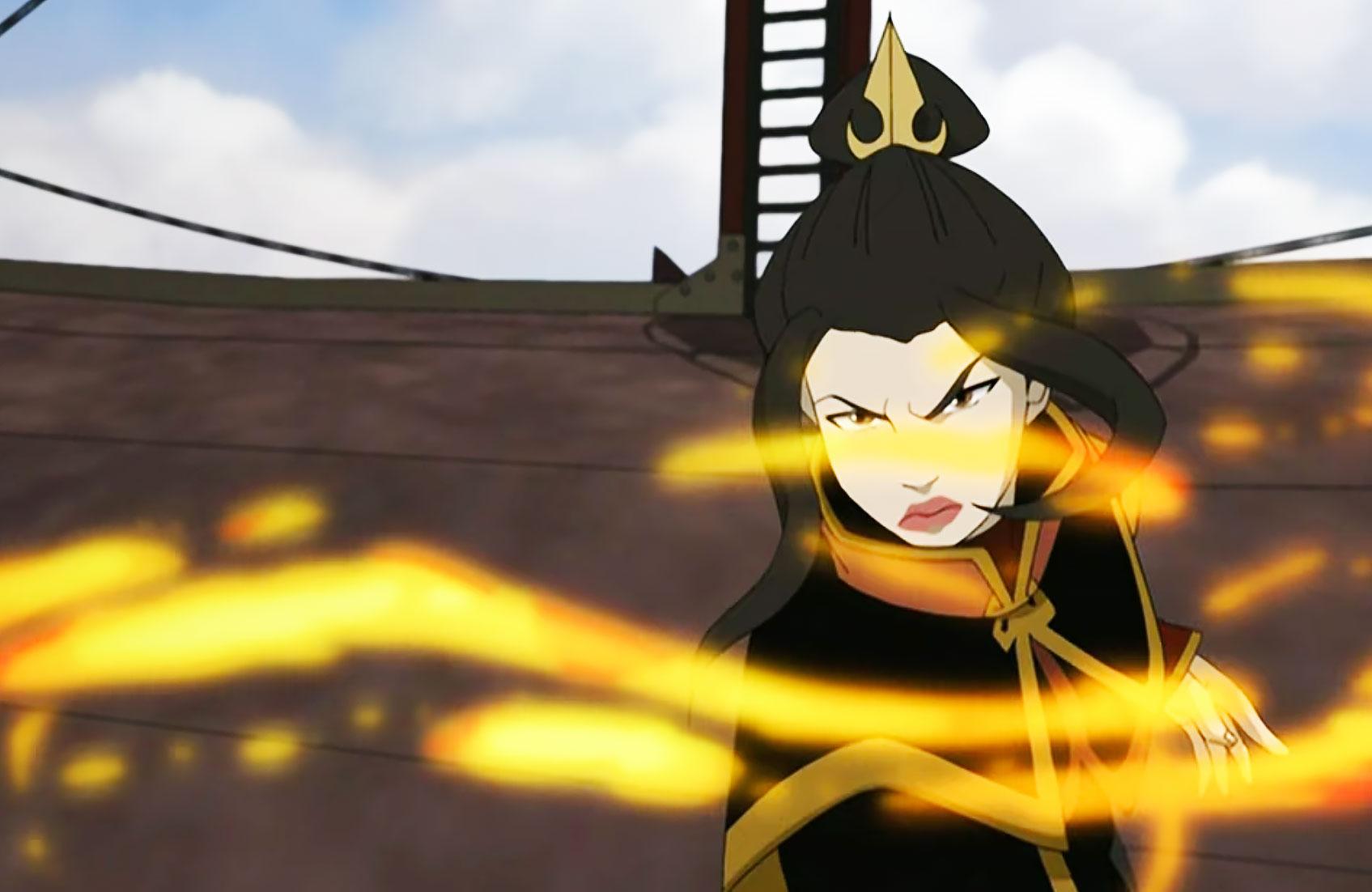 azula firebending in avatar