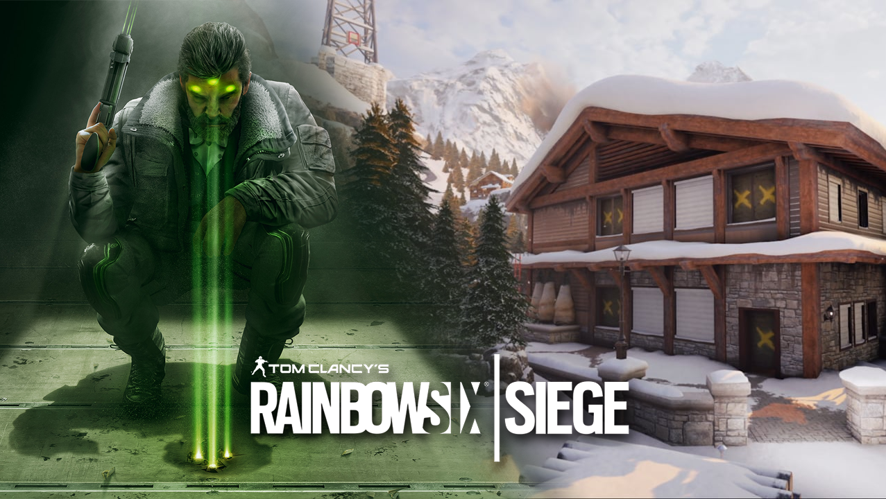 Zero and Chalet side by side in Rainbow Six Siege from Operation Shadow Legacy