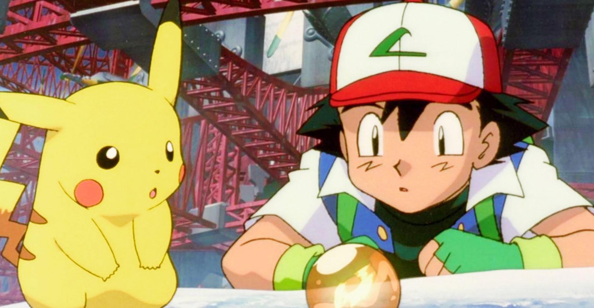 ash pikachu pokemon