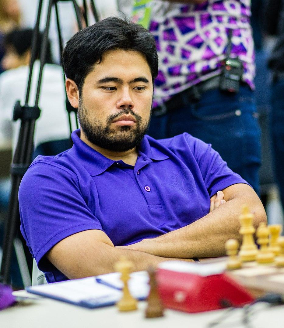 Hikaru Nakamura playing Chess