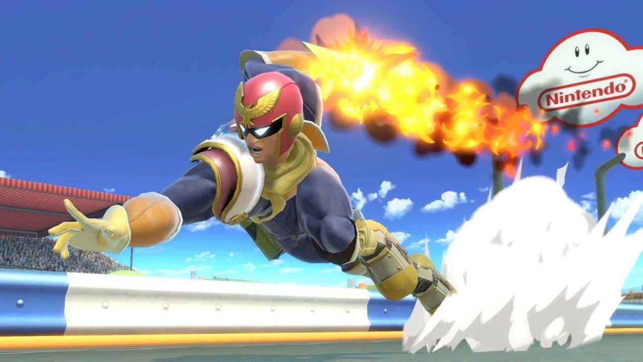 Captain Falcon in Smash Ultimate