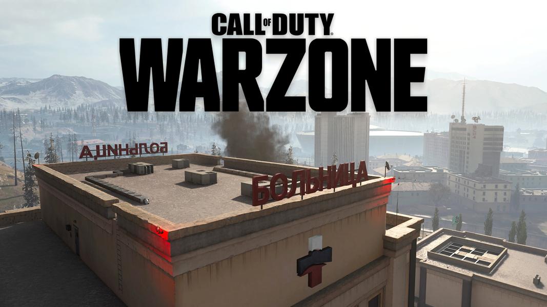 Warzone Hospital with Logo