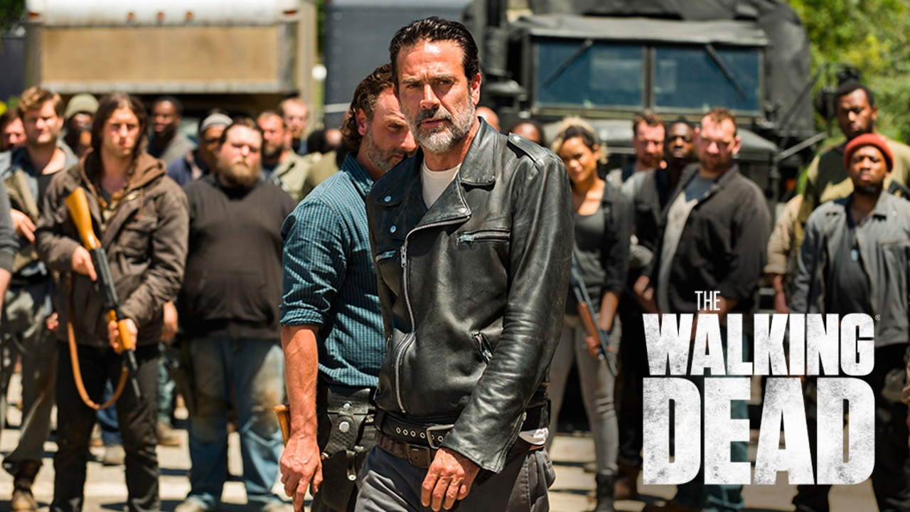Negan and The Saviors in TWD