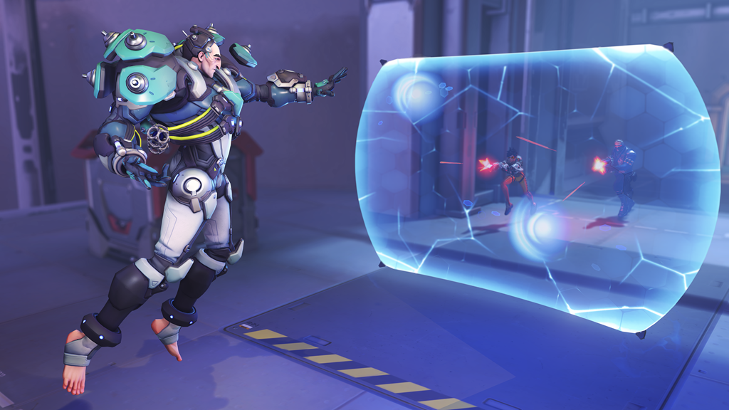 Sigma uses his Experimental Barrier