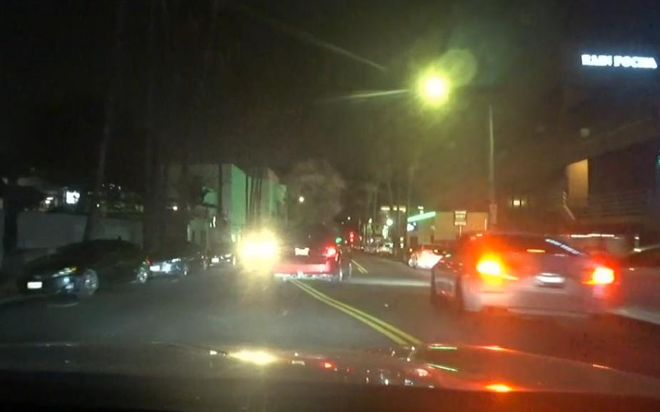 Cars in LA's Korea Town