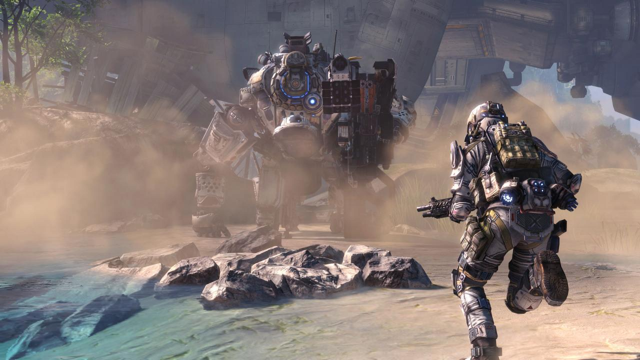 Respawn's Titanfall series had a few tropical maps, including Lagoon and Swampland.