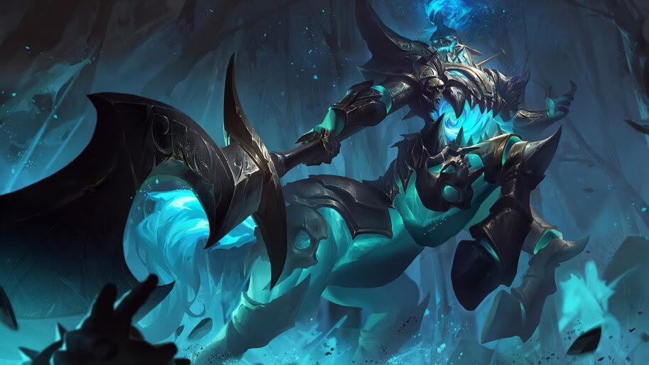 Hecarim -- and Caitlyn -- may have been a little overtuned in League Patch 10.16.