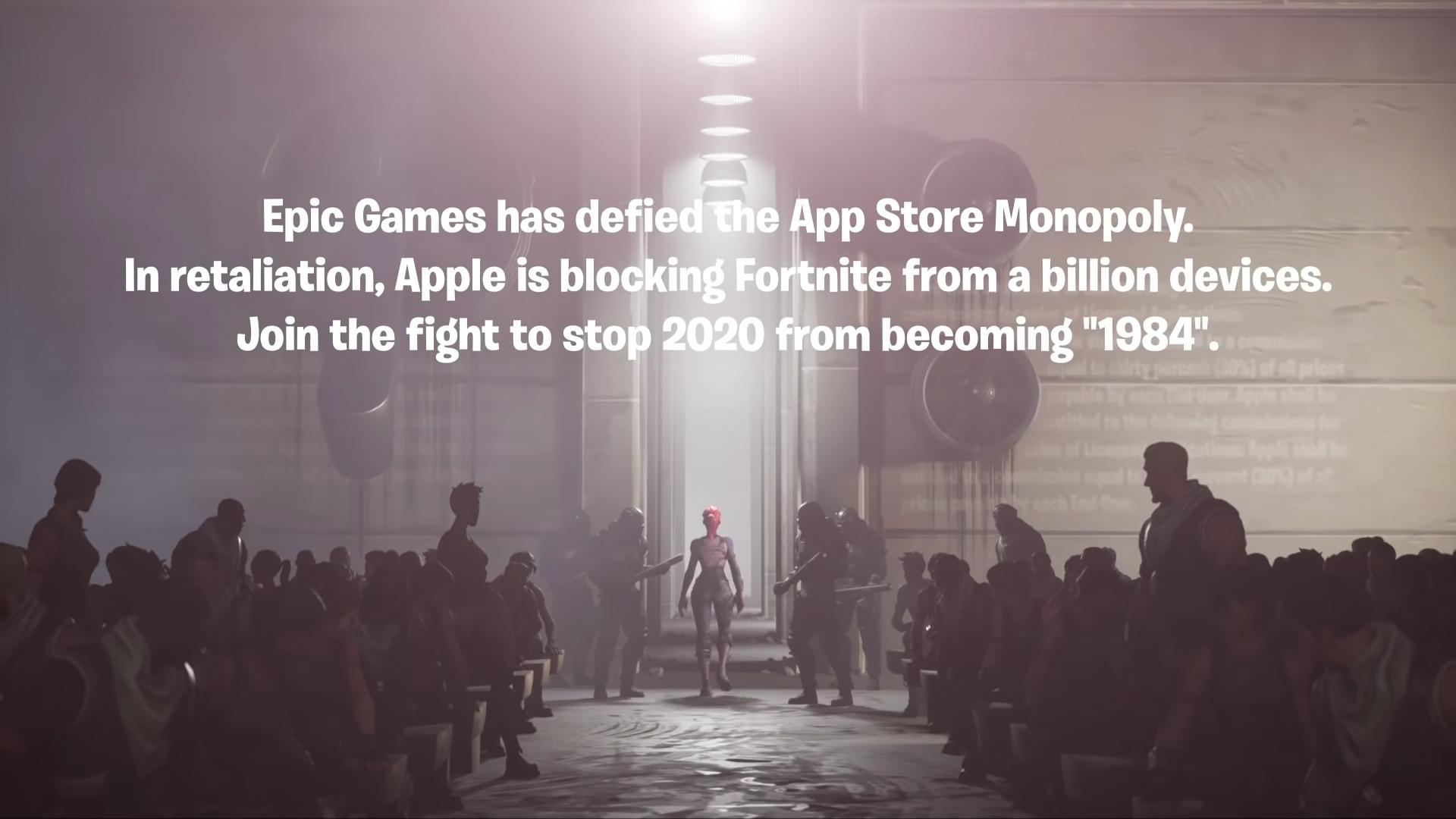 Epic Games' #FreeFortnite video.