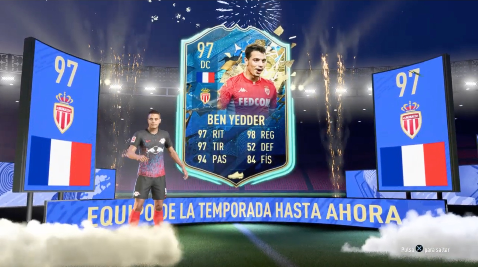 Ben Yedder TOTSSF in FIFA 20