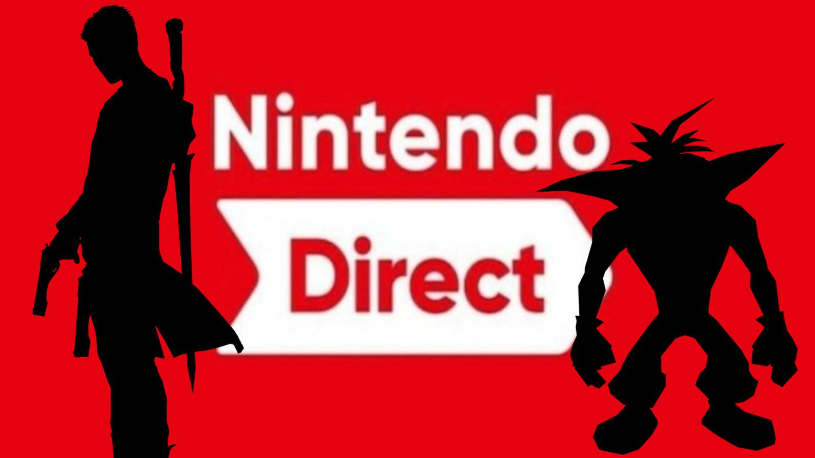 Dante and Crash Bandicoot in a Nintendo Direct