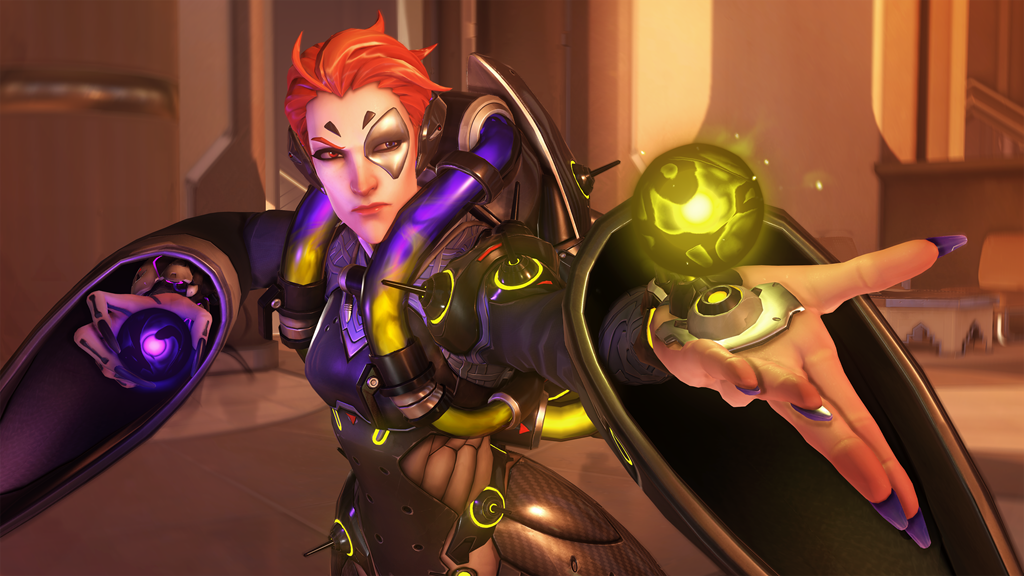 Moira on Oasis in Overwatch