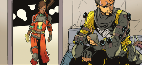 Apex Legends has moved to full-color comics for its Season 6 stories.
