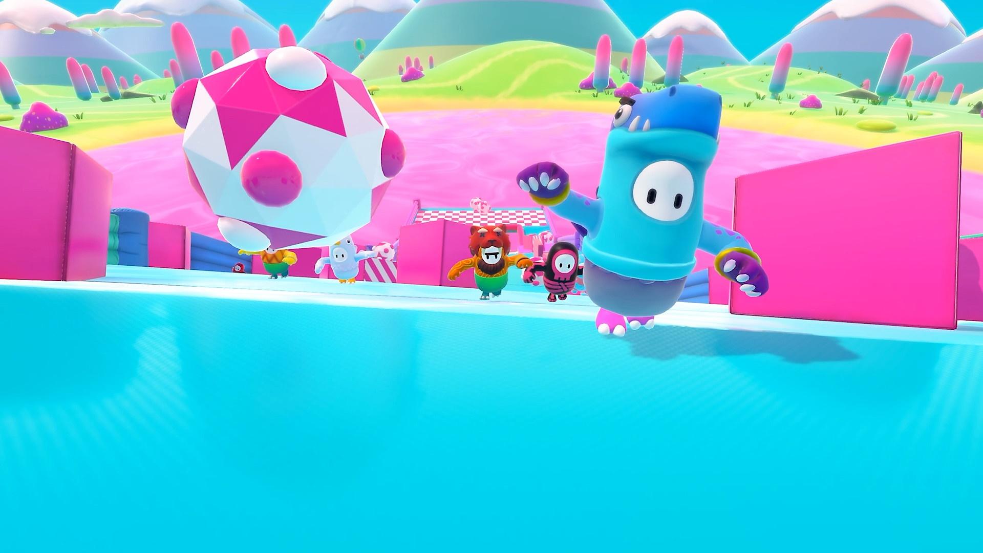 Fall Guys screenshot from minigame