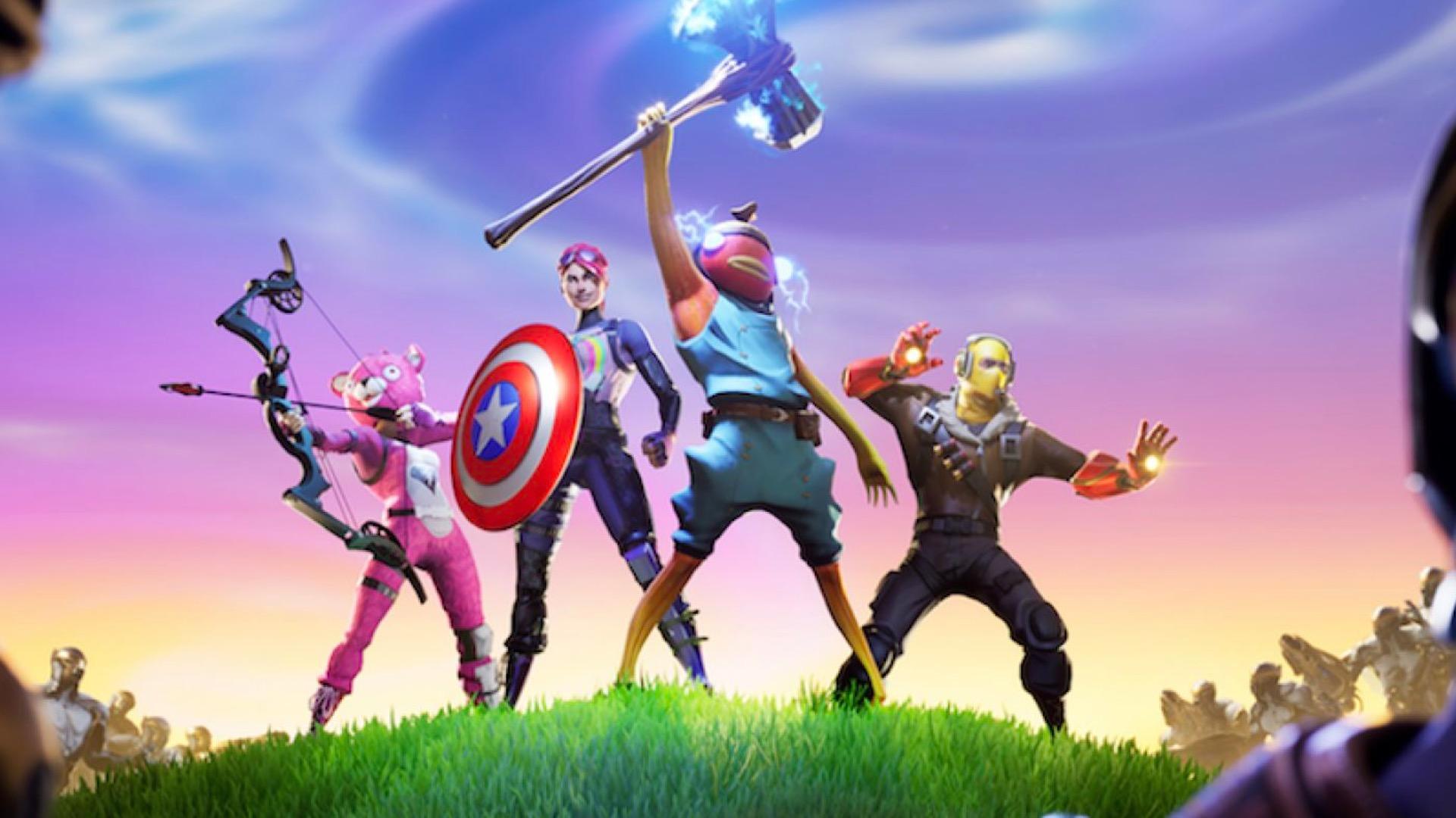 Fortnite super heroes