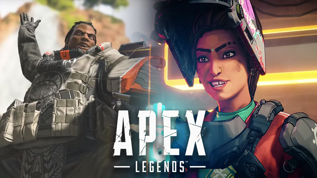 gibraltar and Rampart characters from Apex Legends