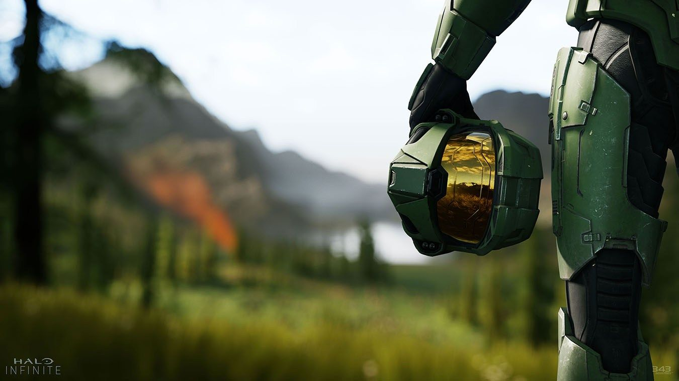 Master Chief without his helmet