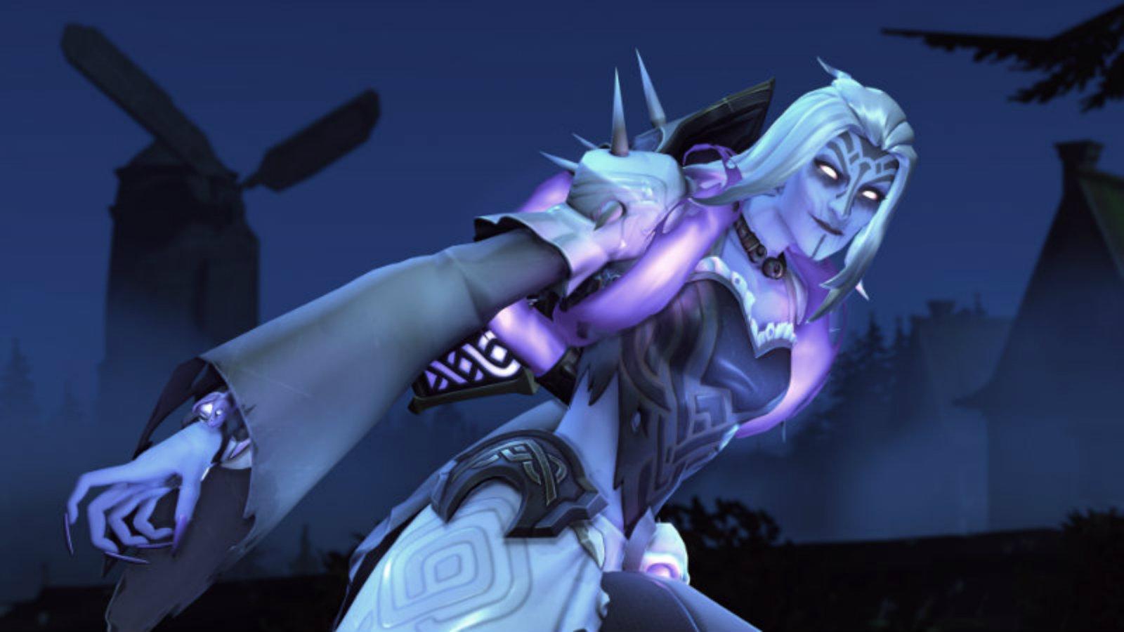 Moira in her Halloween Overwatch skin