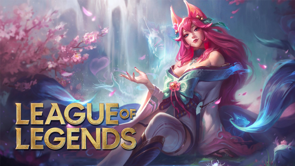 Spirit Blossom Ahri in League of Legends