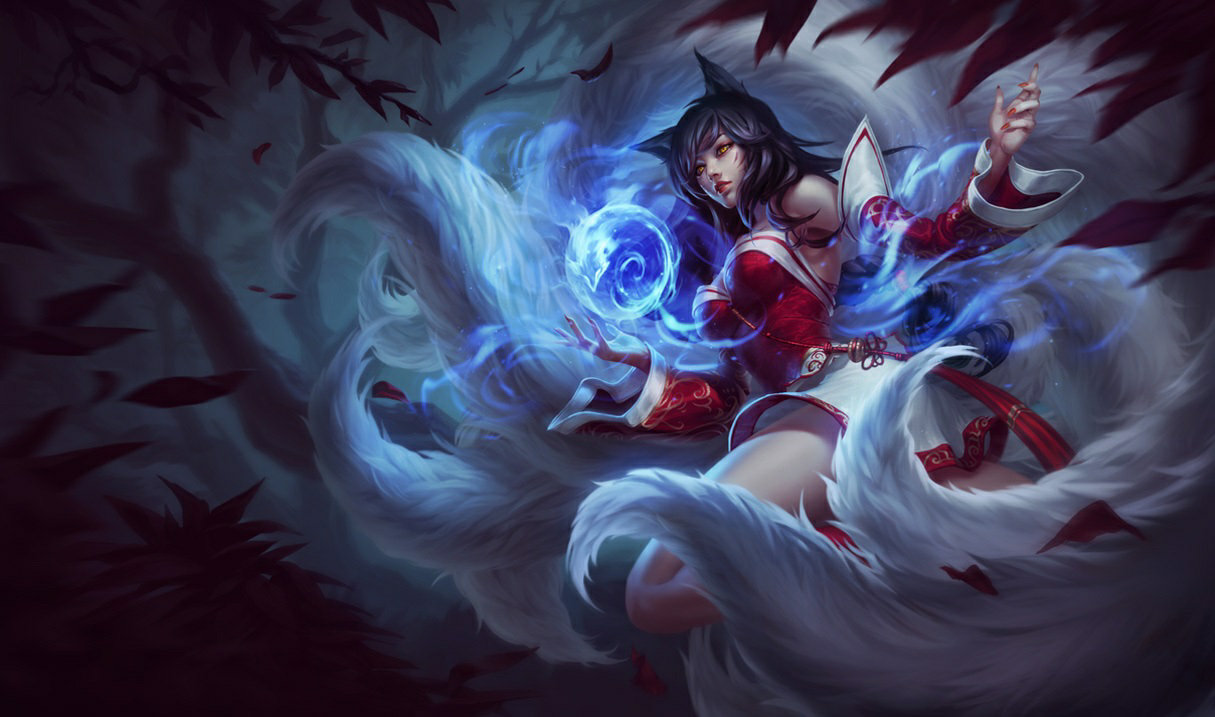 Ahri in League of Legends