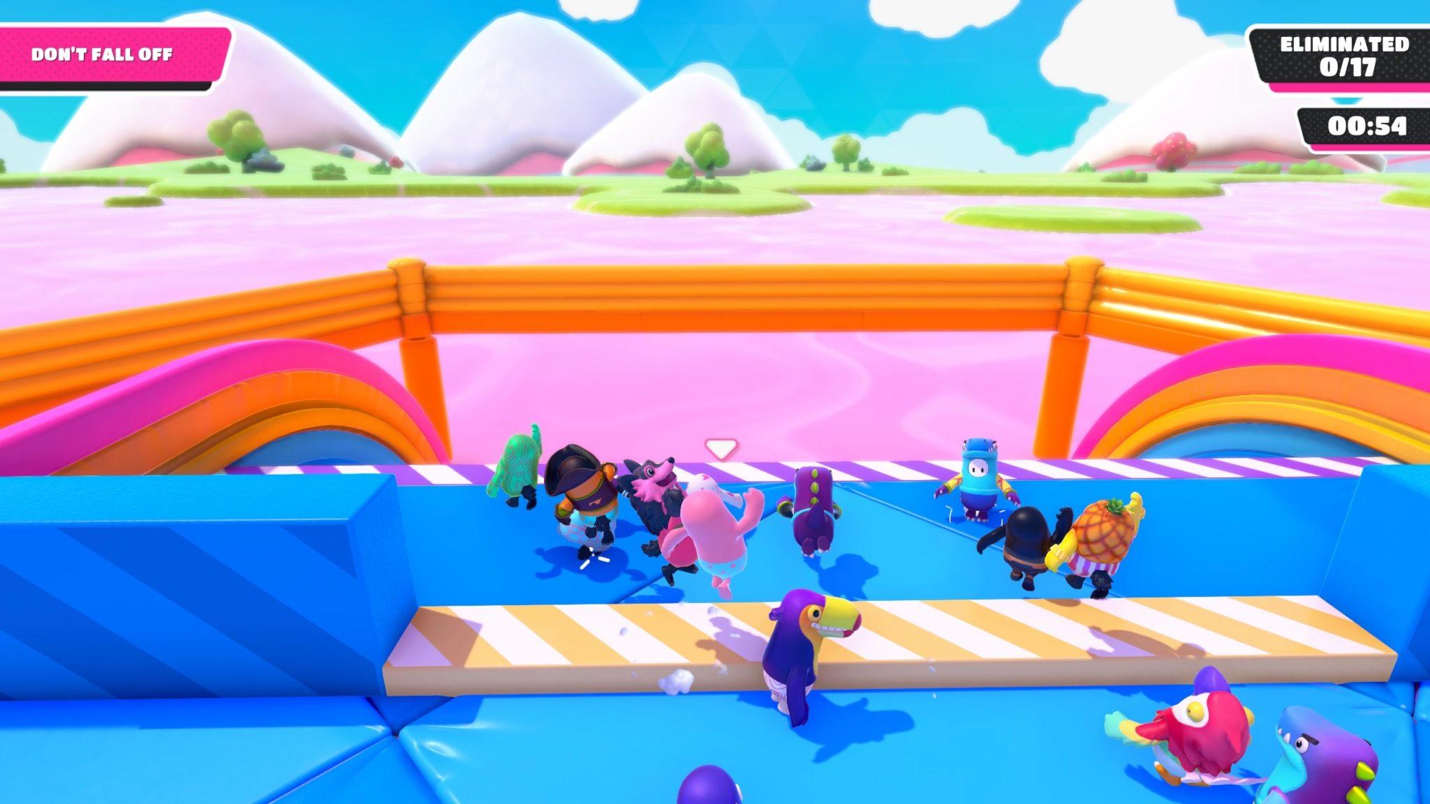 Fall Guys Block Party mini-game