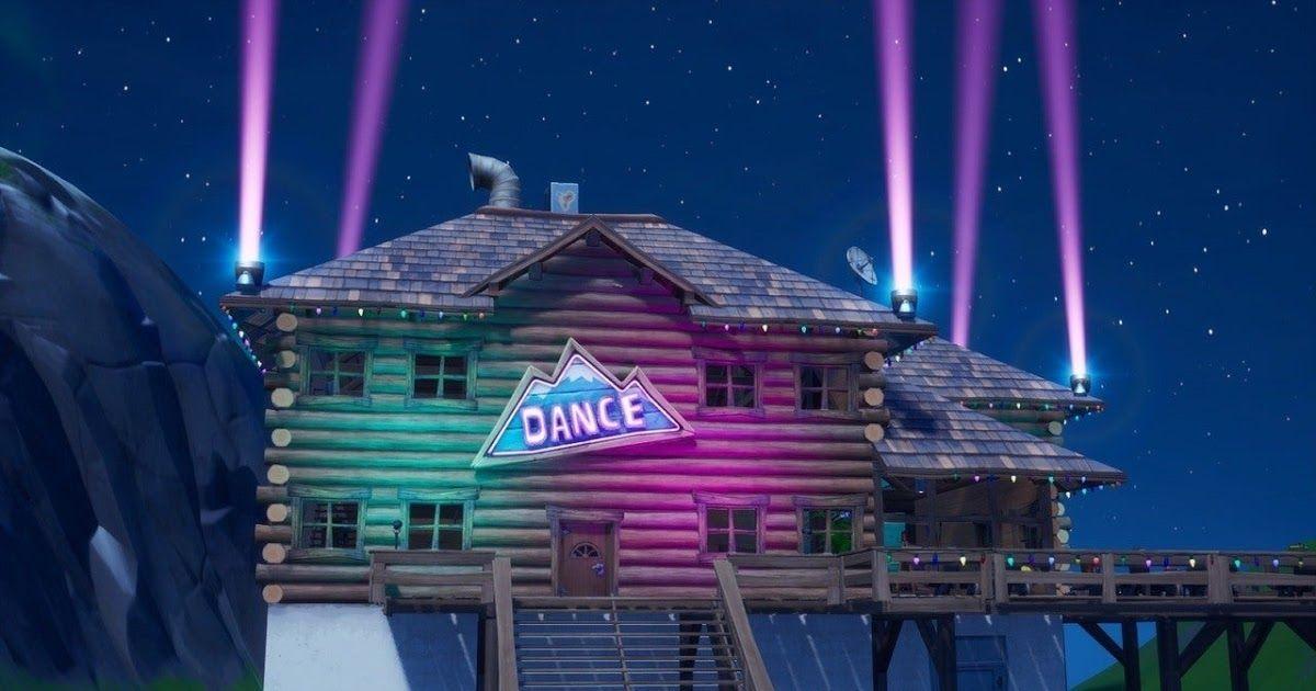 Fortnite Season 3's Apres Ski lodge.