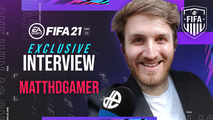 FIFA YouTuber MattHDGamer exclusive interview