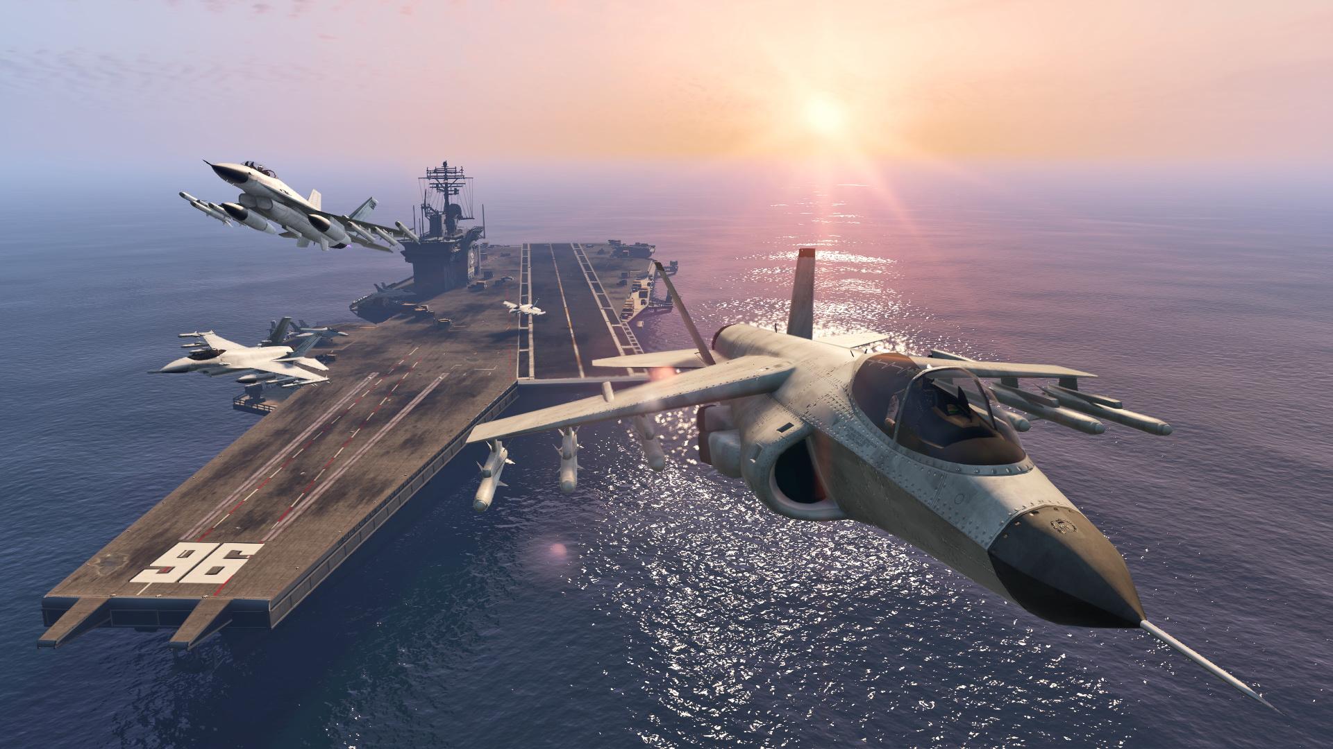 GTA Online USS Luxington Business Battle