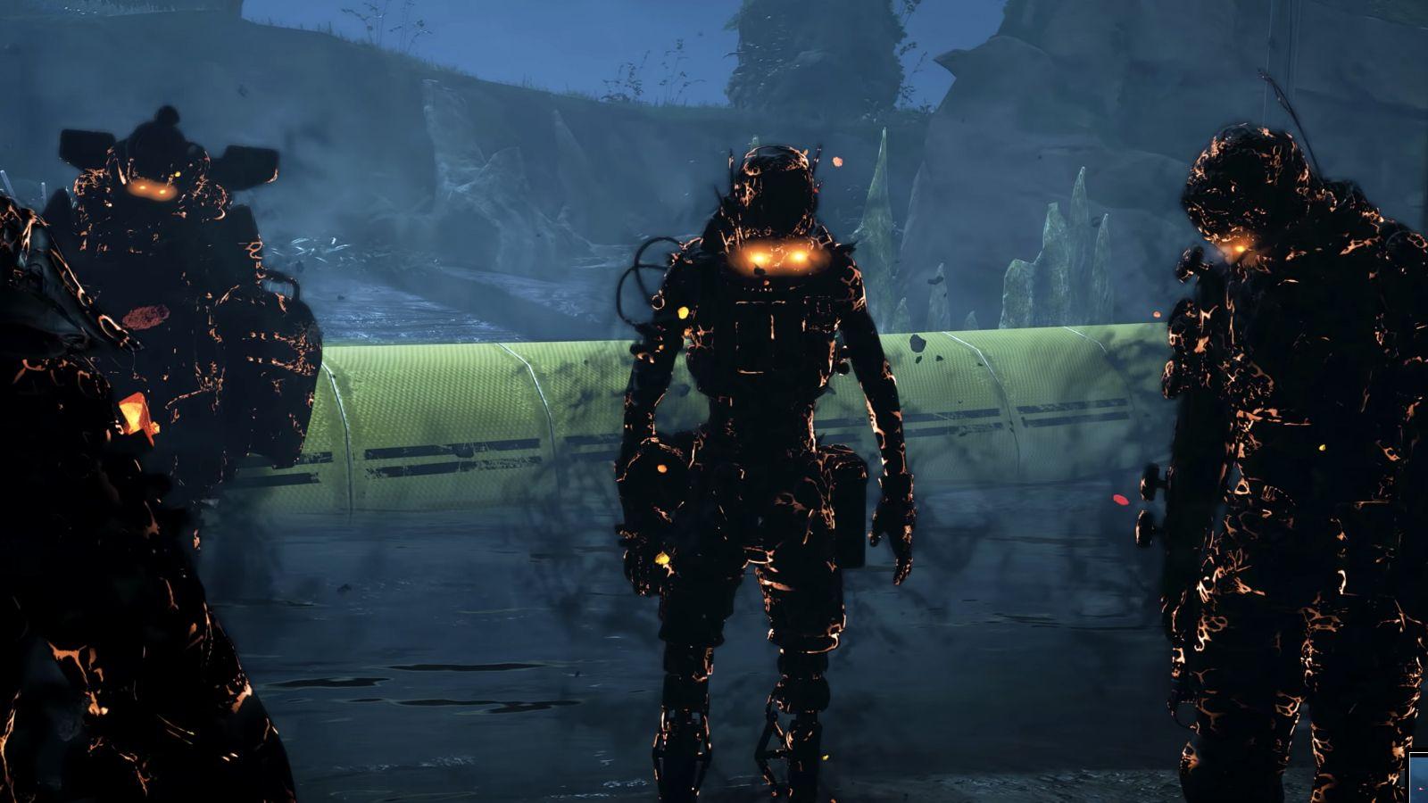 Shadow squad in Apex legends shadowfall