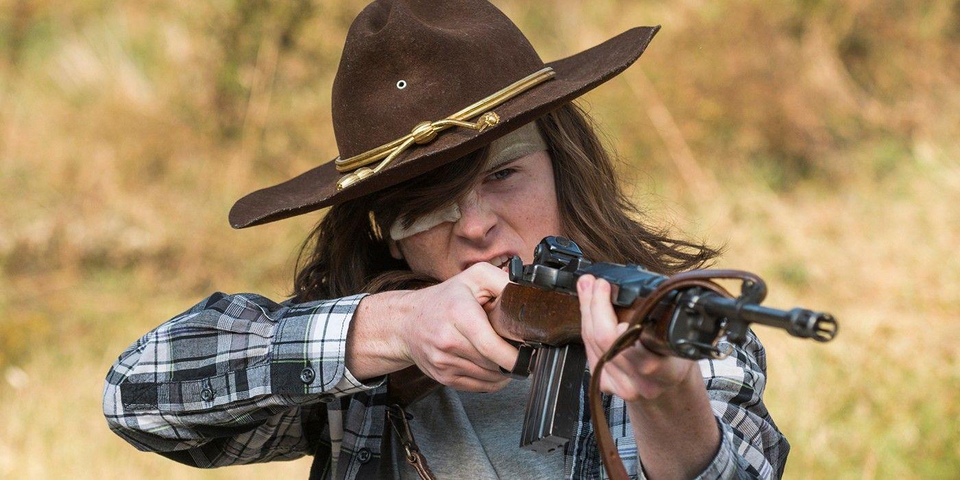 Walking Dead Carl Grimes