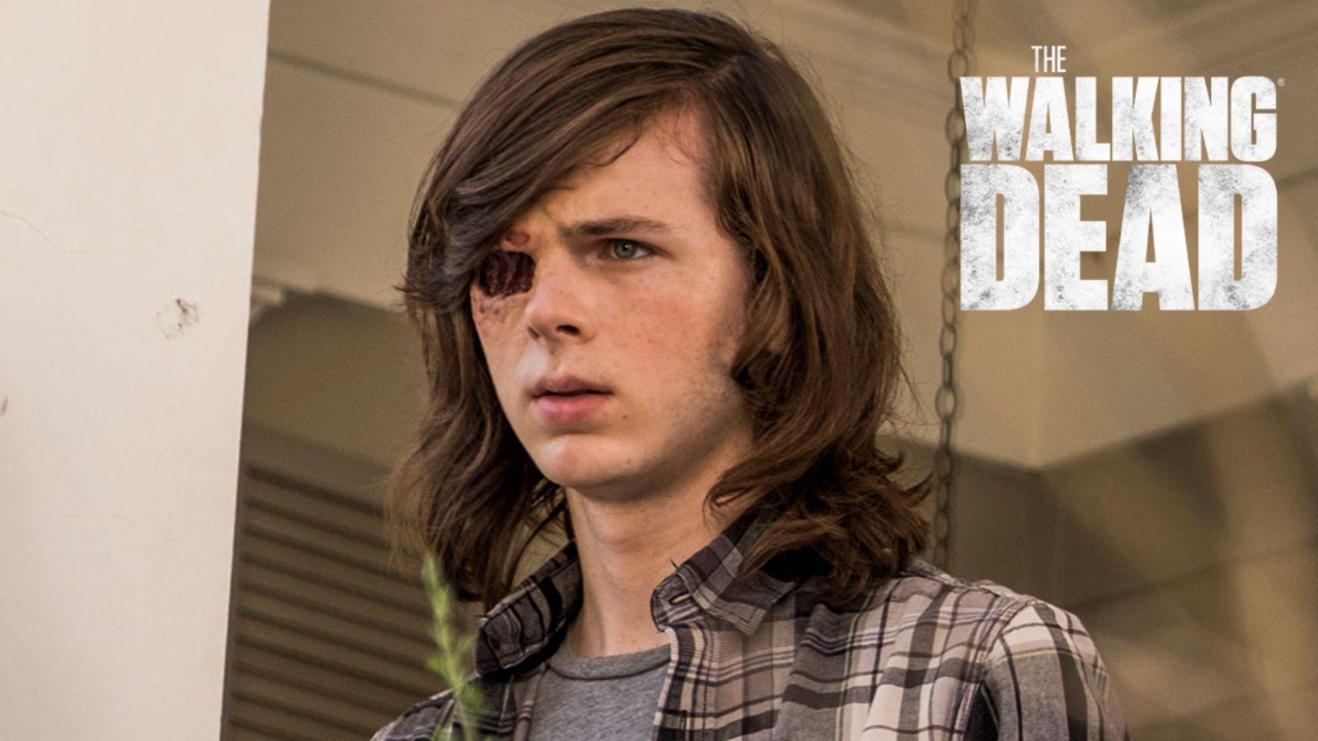 Chandler Riggs as Carl Grimes in Walking Dead
