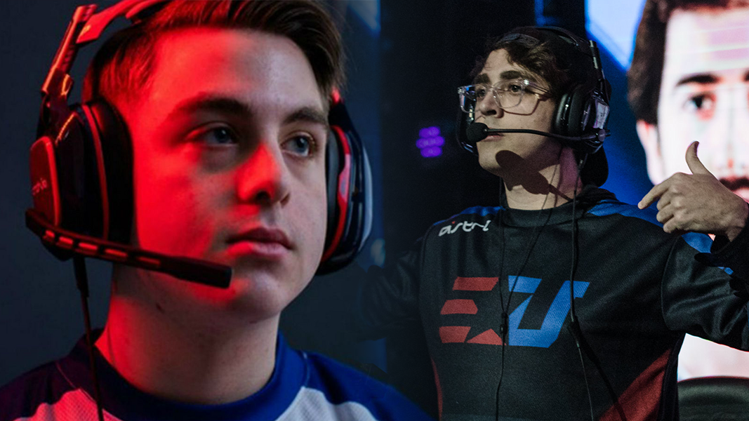 Simp and clayster from eunited call of duty team