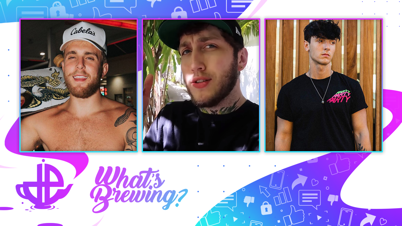 What's Brewing? Jake Paul, FaZe Banks. Bryce Hall