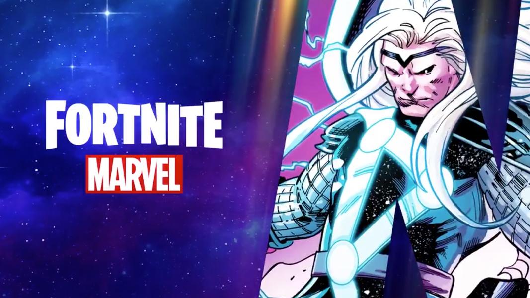 Fortnite Season 4 Marvel Teaser with Thor