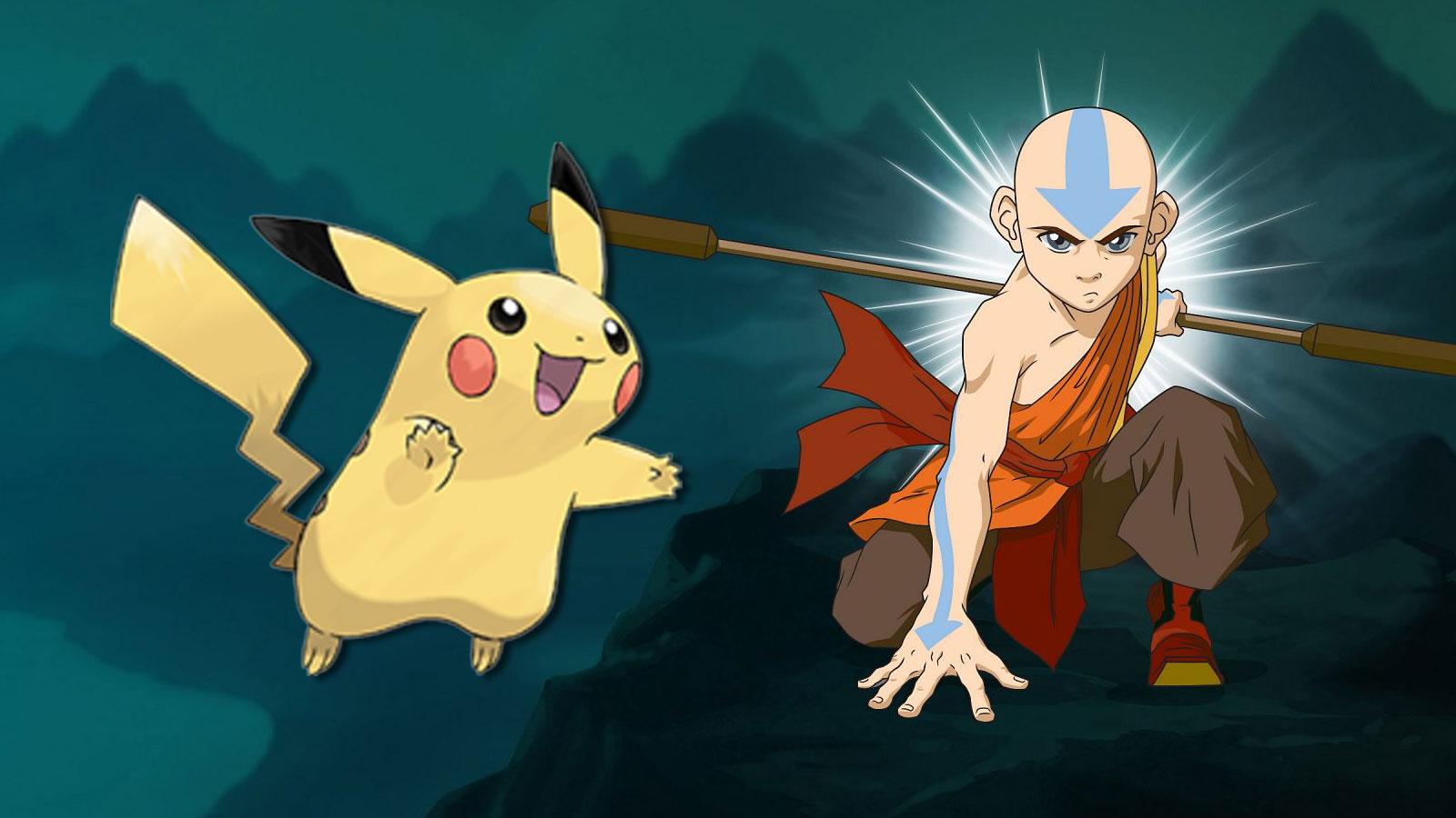 pikachu aang avatar