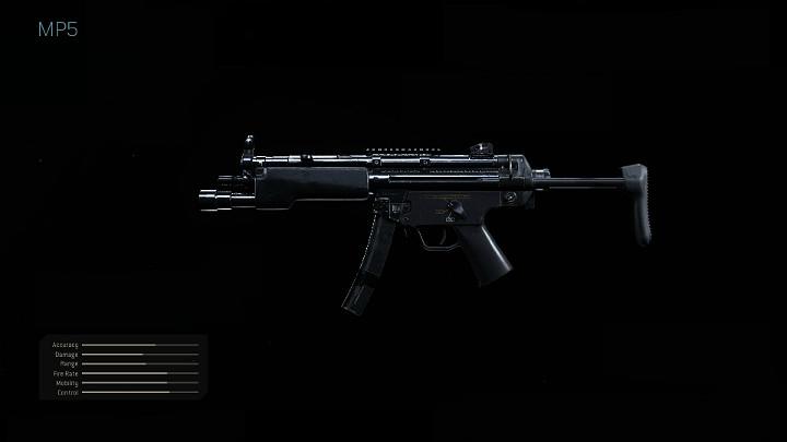 mp5 gun in modern warfare