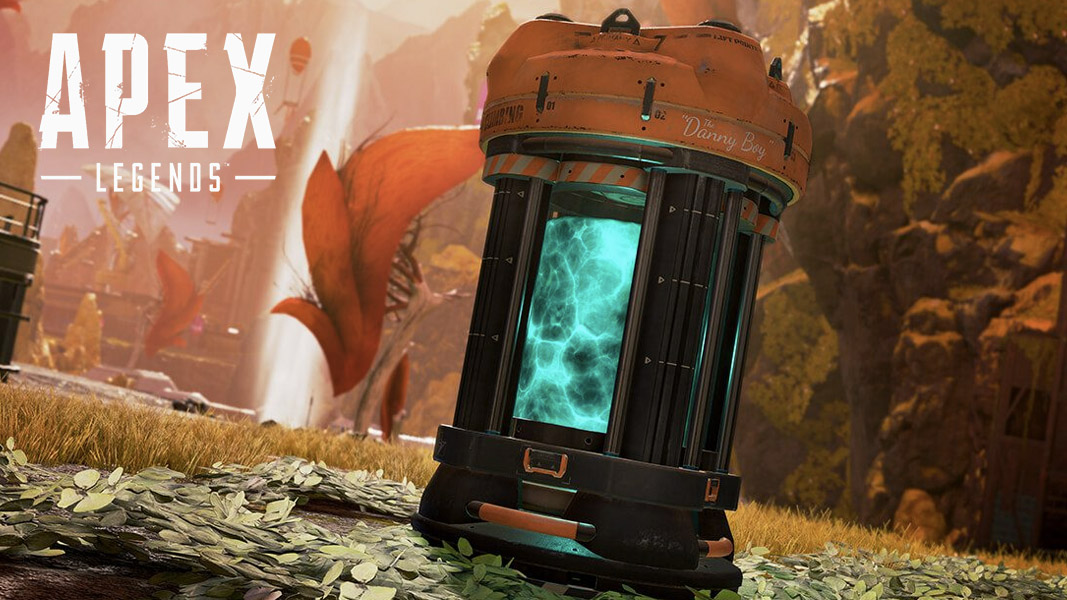 A materials extractor in Apex Legends