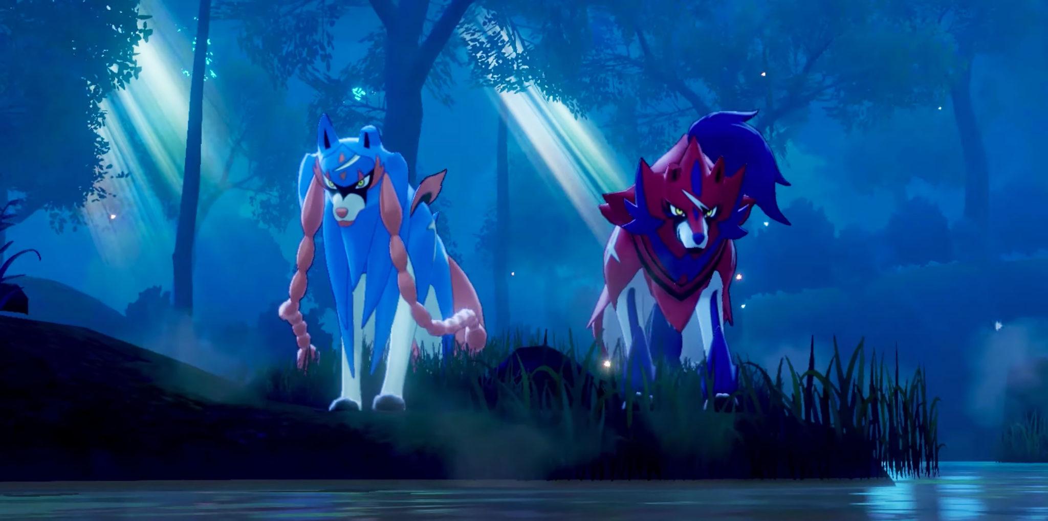 pokemon sword shield zacian and zamazenta