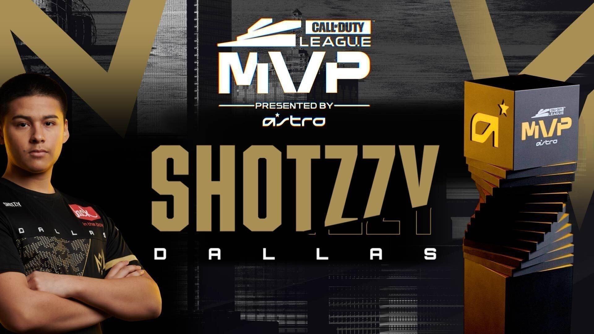 call of duty league 2020 mvp shotzzy