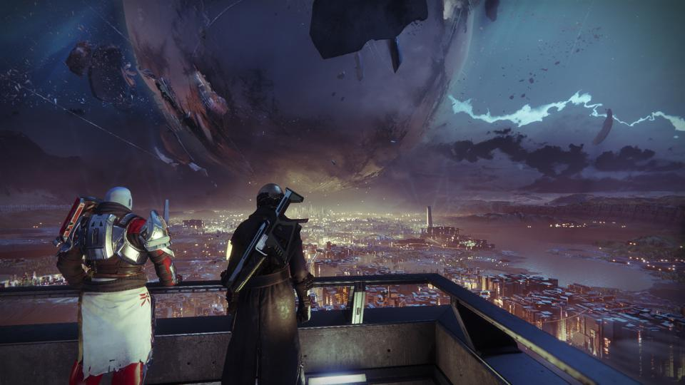Zavala turns his back on the Traveler whenever he doles out Vanguard tokens.