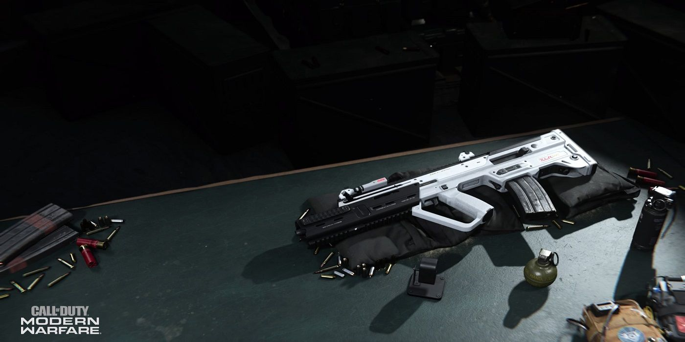 Warzone RAM-7 Gunsmith screen