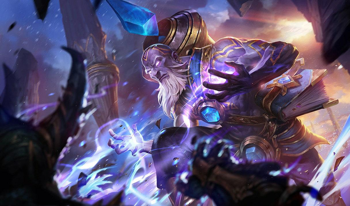 Triumphant Ryze in League of Legends