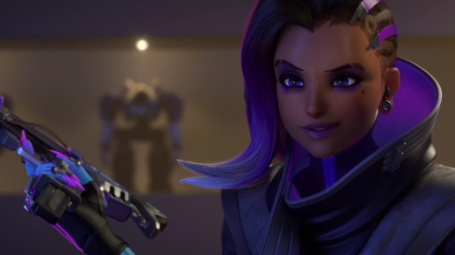 Vega appeared as Overwatch criminal hacker Sombra.