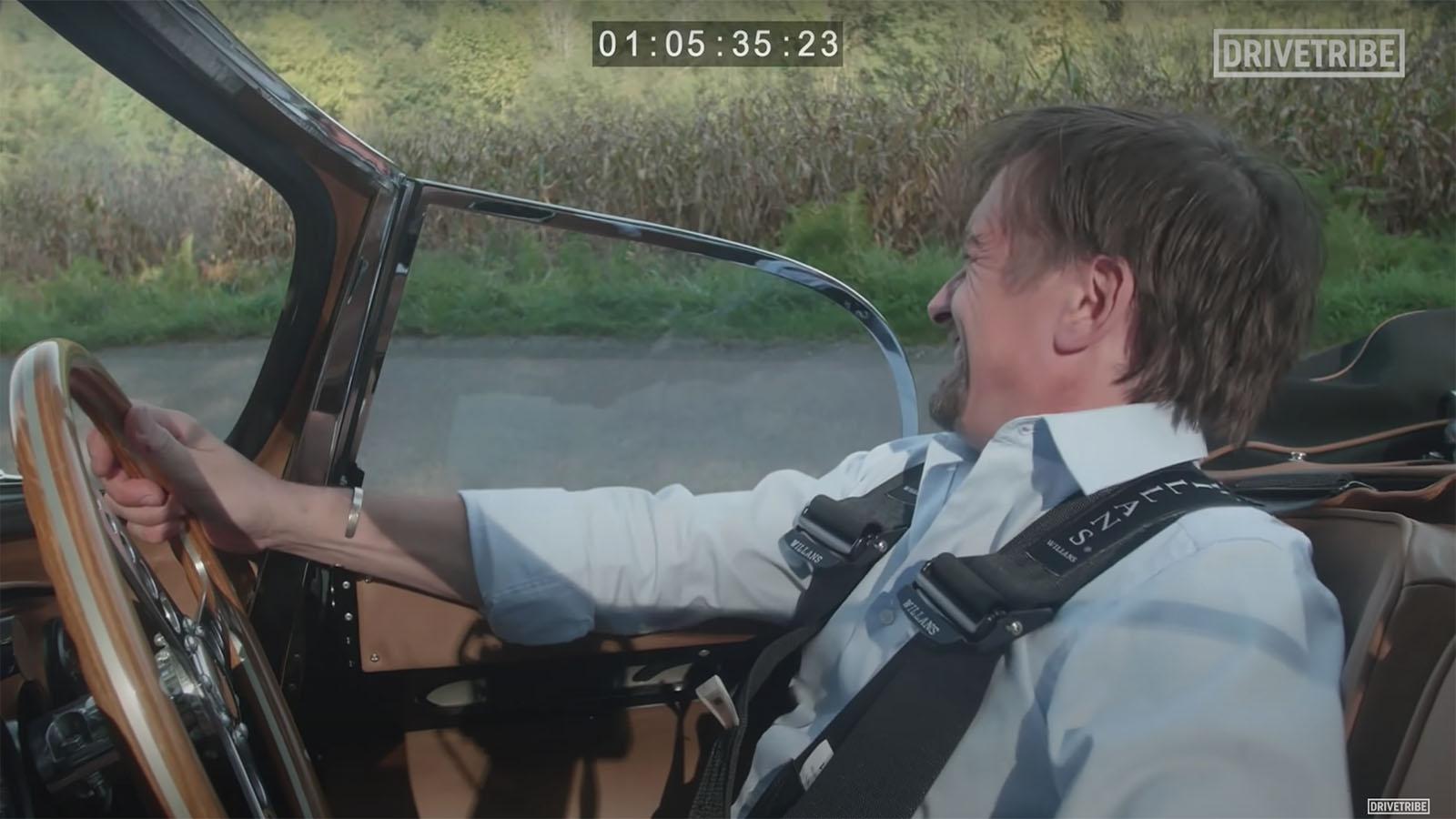 Hammond Crunching Gears in the Jaguar XK SS
