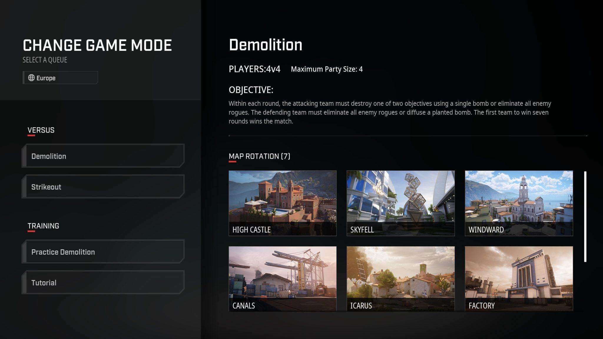 Rogue Company game modes
