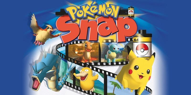 Pokemon Snap N64 Cover