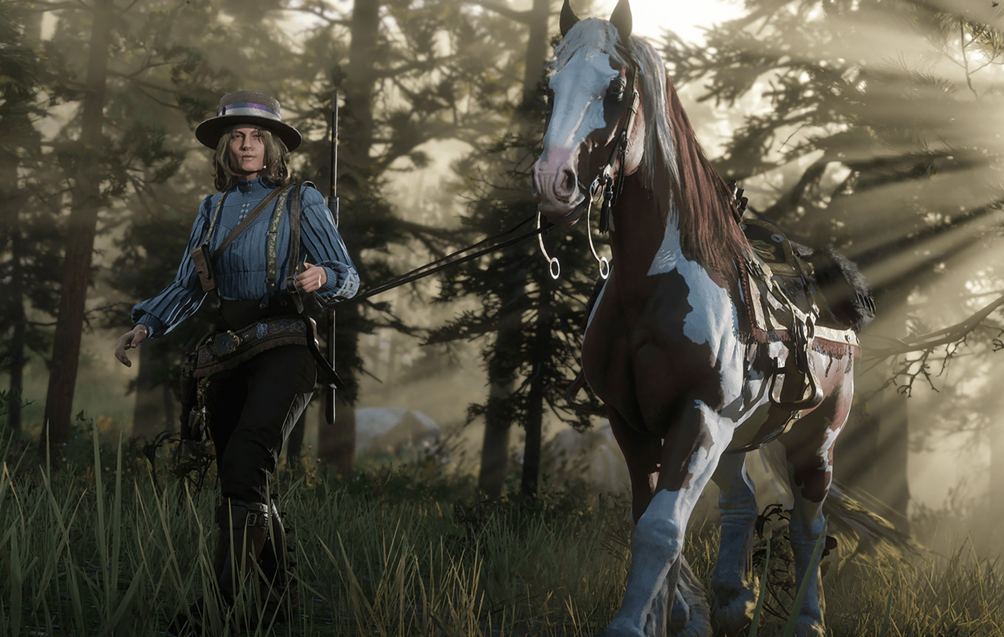 Red Dead Online horse from the Naturalist update