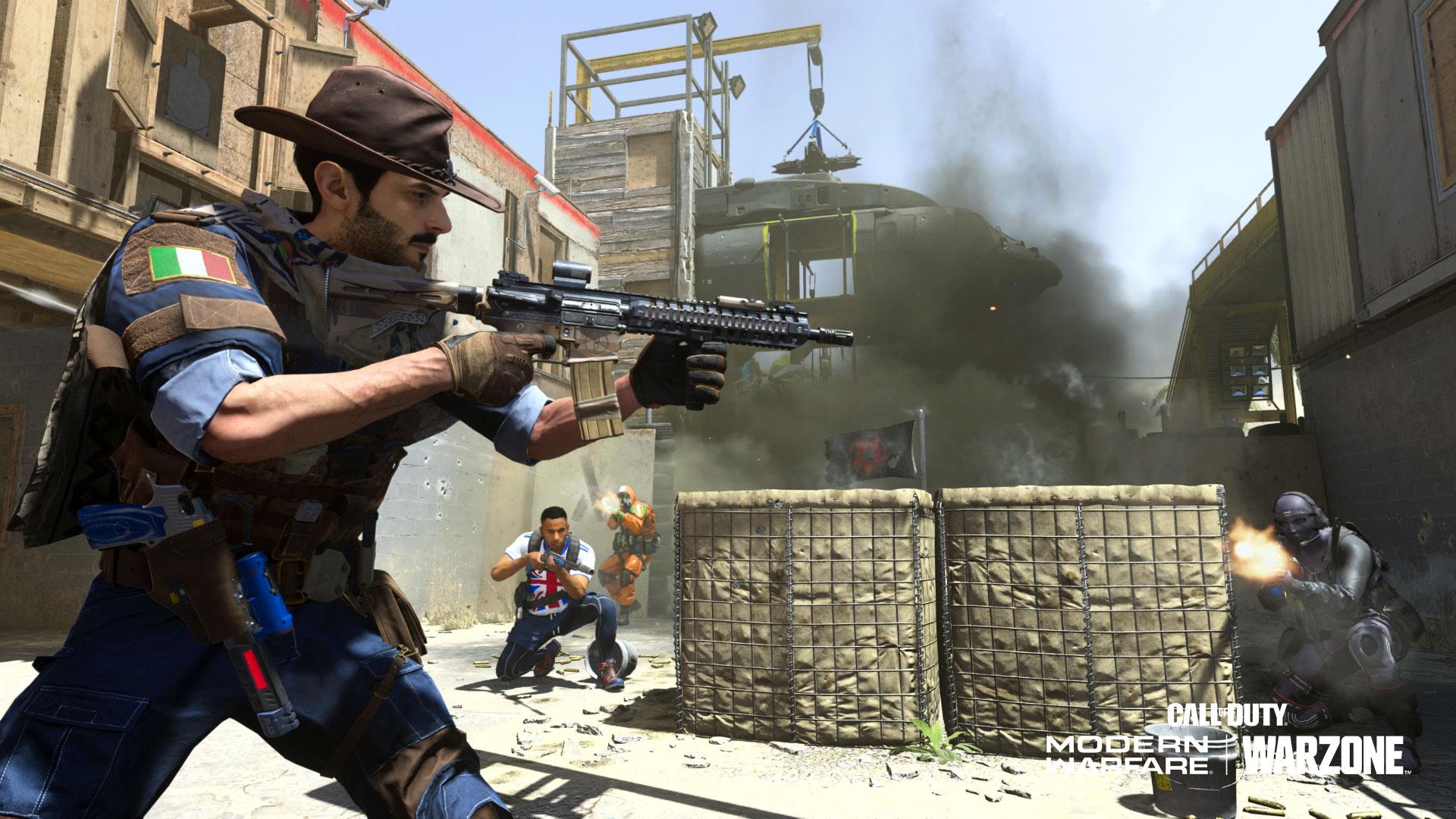 Modern Warfare Ground War gameplay