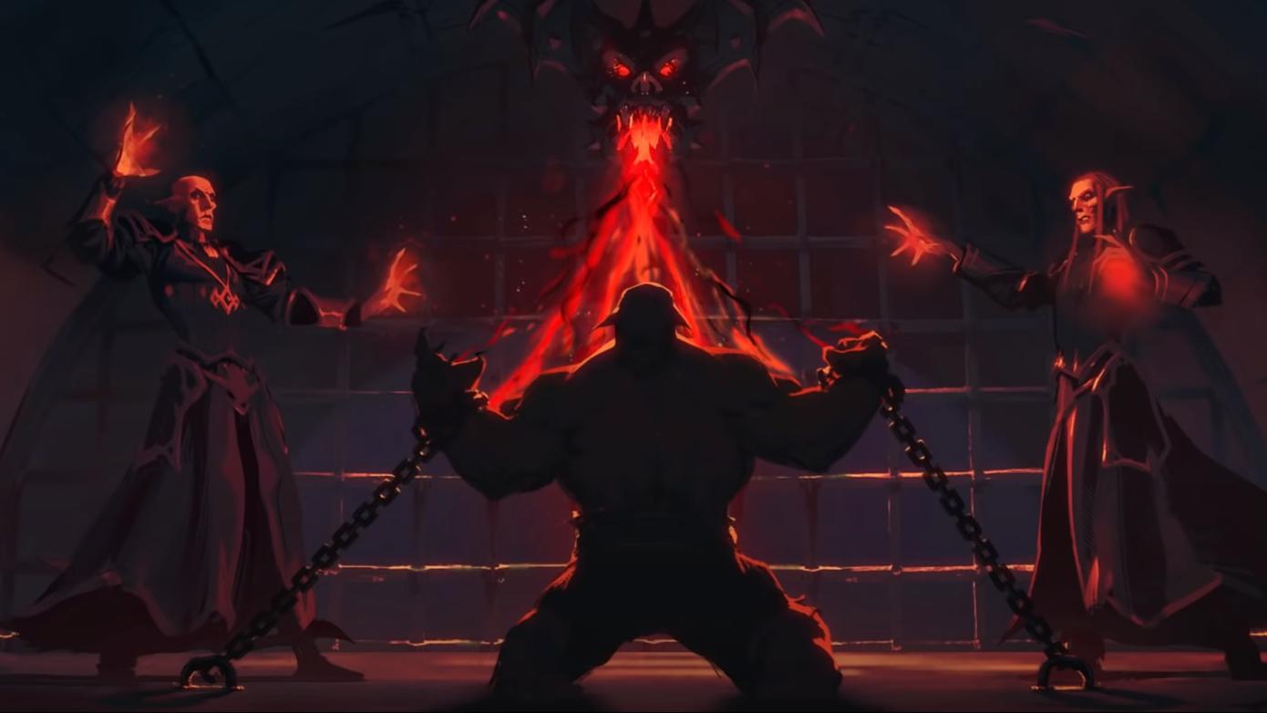 Fallen Horde warchief Garrosh Hellscream will appear in 'Shadowlands Afterlife.'