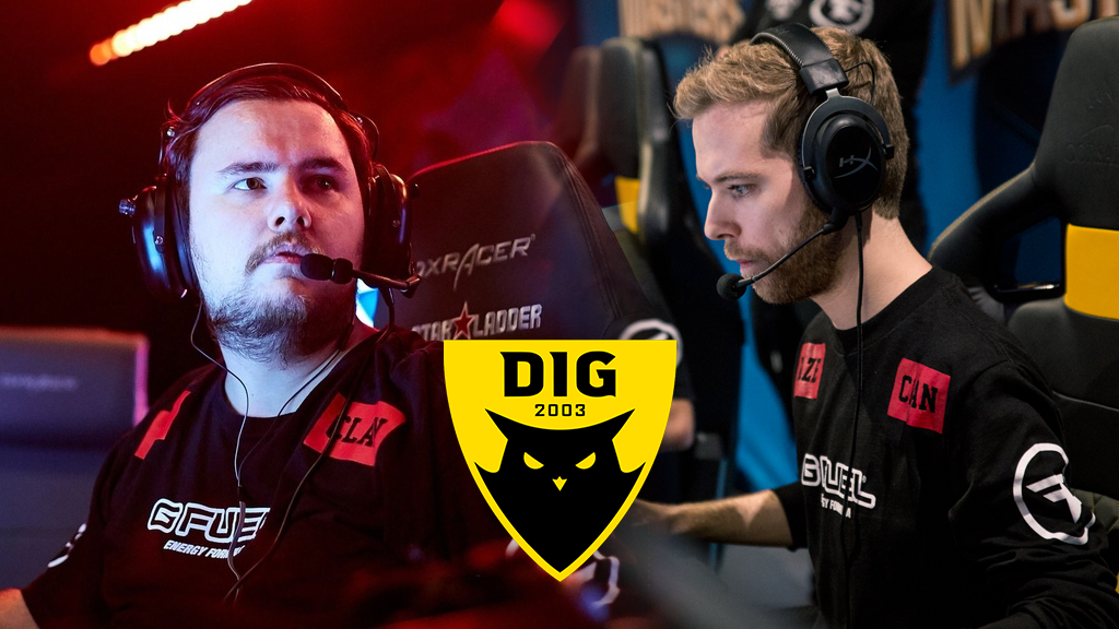 Guardian and Xizt playing for FaZe Clan
